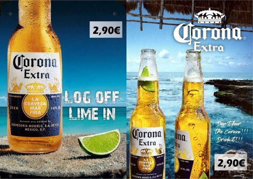 Corona extra A4